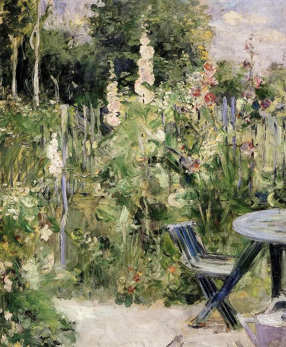 """Salkoruusut"", Berthe Morisot"